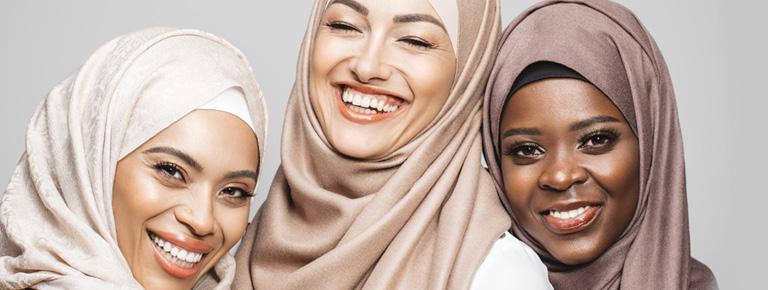 3 Arabic ladies