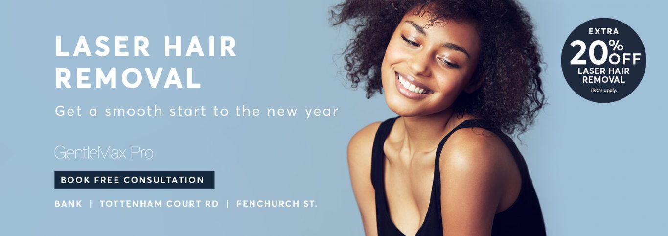 Laser Hair Removal banner new year