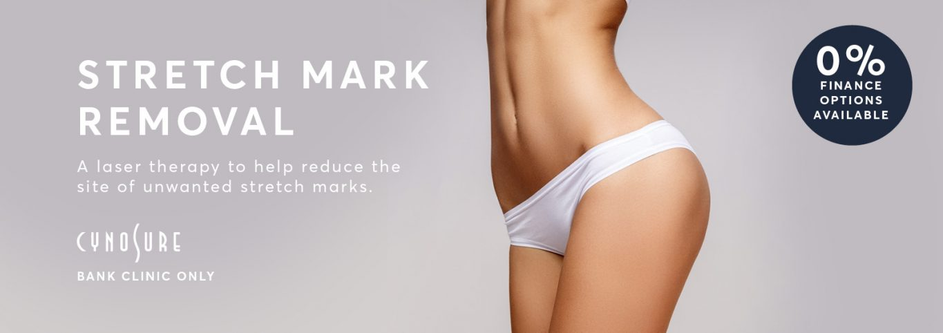 Stretch mark removal banner